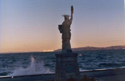 Mini Statue of Liberty