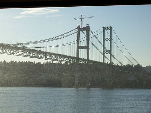 Amtrak Train: Bridge