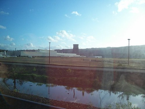 Amtrak Train: Nuclear Plant
